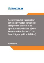 Recommended vaccination scheme (RVS) for personnel assigned to coordinated operational activities of the European Border and Coast Guard Agency